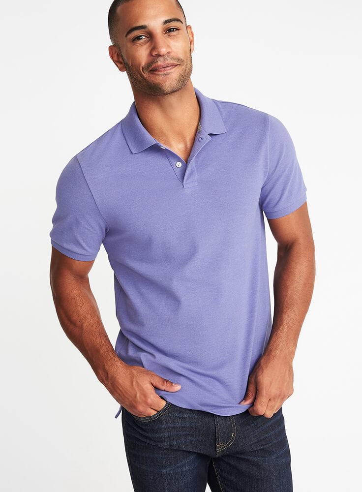 Marškinėliai Violetiniai